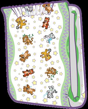 ABUniverse Crinklz Diapers